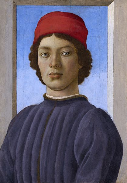 Filippino Lippi Portrait of a Youth Basic Ideas of the Renaissance