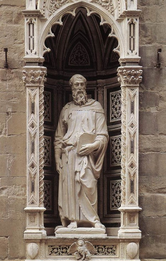 Donatello Saint Mark Orsanmichele Donatellos Saint Mark