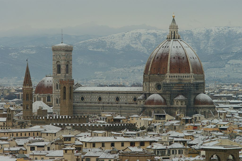 religious and architectural sites of florence essay Renaissance art and architecture landscape or an architectural environment act out and in that capacity designed the enormous octagonal dome of florence.