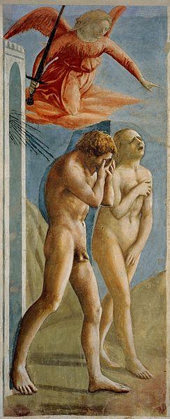 masaccio expulsion adam eve Masaccios Expulsion of Adam and Eve from Eden