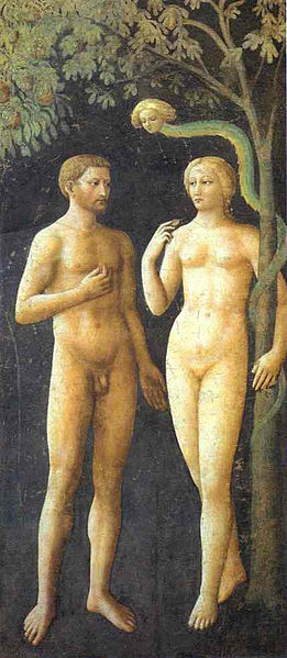 masolino adam eve Masaccios Expulsion of Adam and Eve from Eden