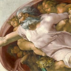 Michelangelo creation of adam detail 1 300x300 Michelangelos Creation of Adam