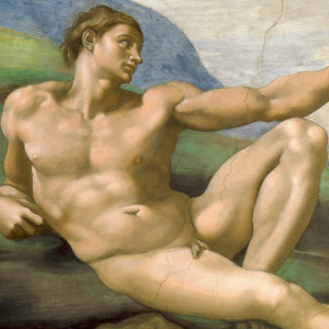 Michelangelo creation of adam detail 2 300x300 Michelangelos Creation of Adam