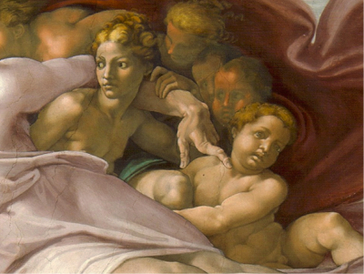 Michelangelo creation of adam detail 3 Michelangelos Creation of Adam