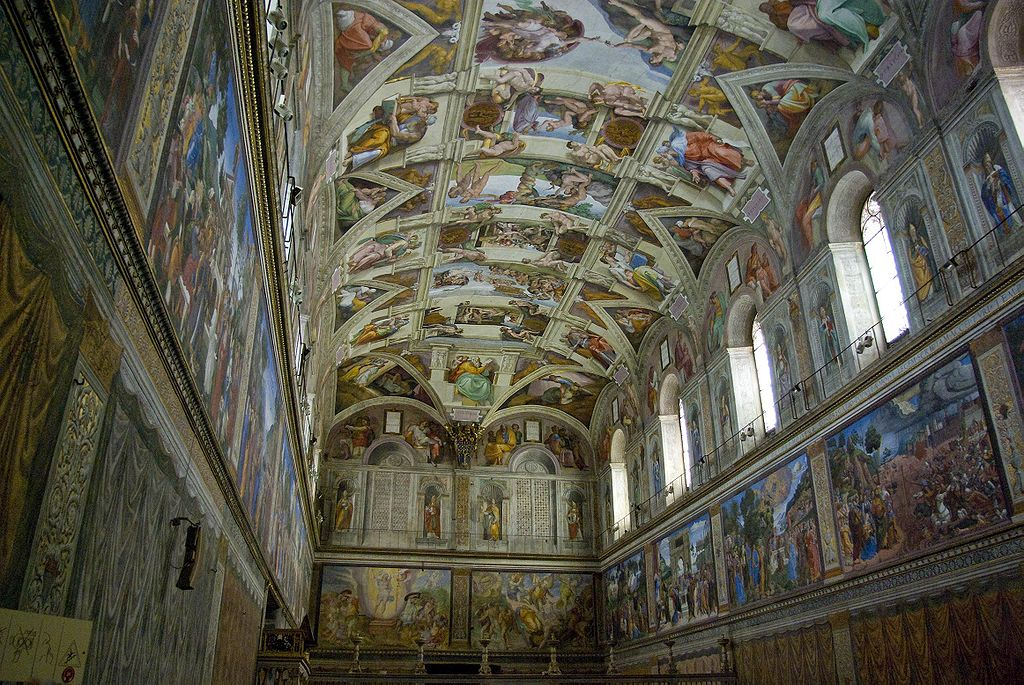 michelangelo 39 s painting of the sistine chapel ceiling On who painted the ceiling of the sistine chapel