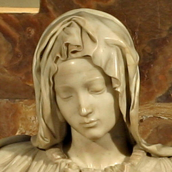 Michelangelo pieta sculpture